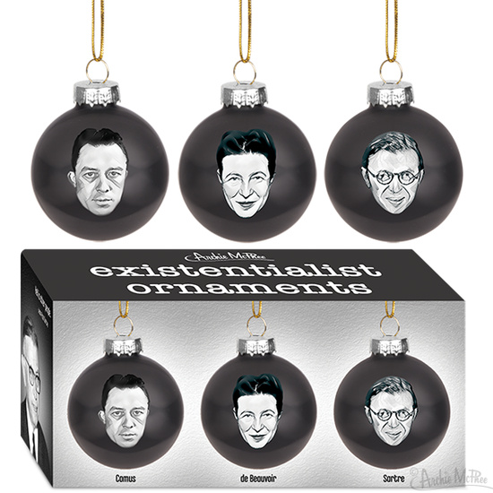 Existentialist Ornaments
