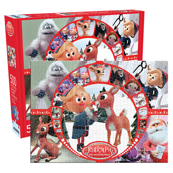 Rudolph Collage 500pc Puzzle