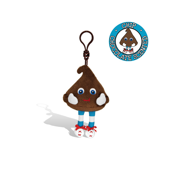 Whiffer Sniffers 'Chip' Chocolate Chip Backpack Clip