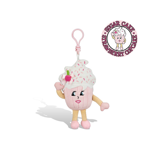 Whiffer Sniffers Sugar Cake Backpack Clip
