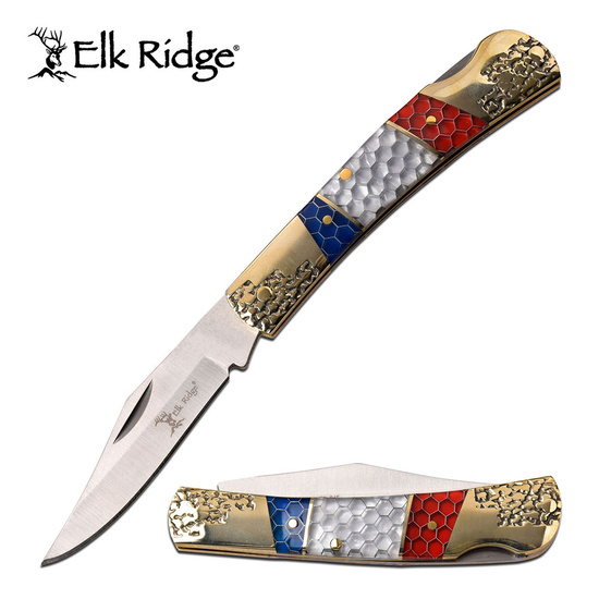 Elk Ridge Nickel Silver Folding Knife (15.5cm)