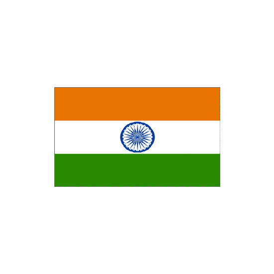 India Polyester Flag (5ft x 3ft)