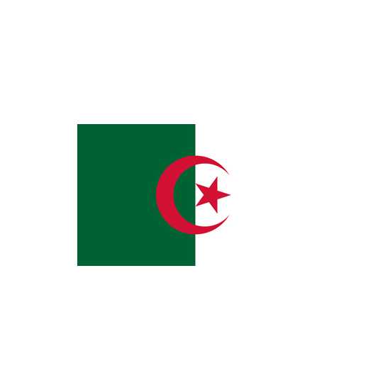 Algeria Polyester Flag (5ft x 3ft)