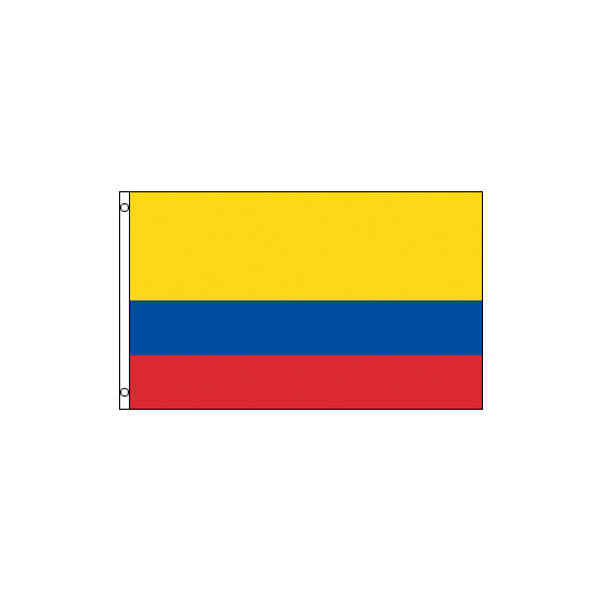 Colombia Polyester Flag (5ft x 3ft)