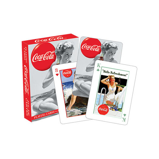 Coca-Cola Beauties Playing Cards