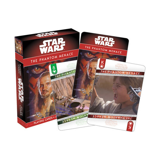 Star Wars – Ep. 1 The Phantom Menace Playing Cards