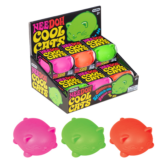 Cool Cats Nee-Doh Stress Ball
