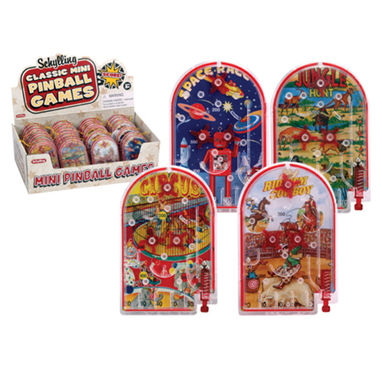 Mini Pin Ball Game - Box of 36