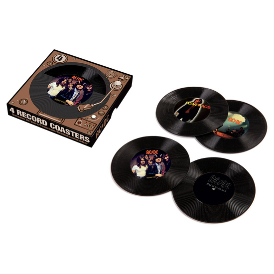 AC/DC – 45 Record Coasters
