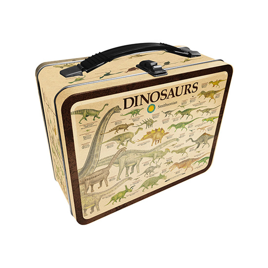 Smithsonian – Dinosaurs Tin Carry All Fun Box / Lunch Box